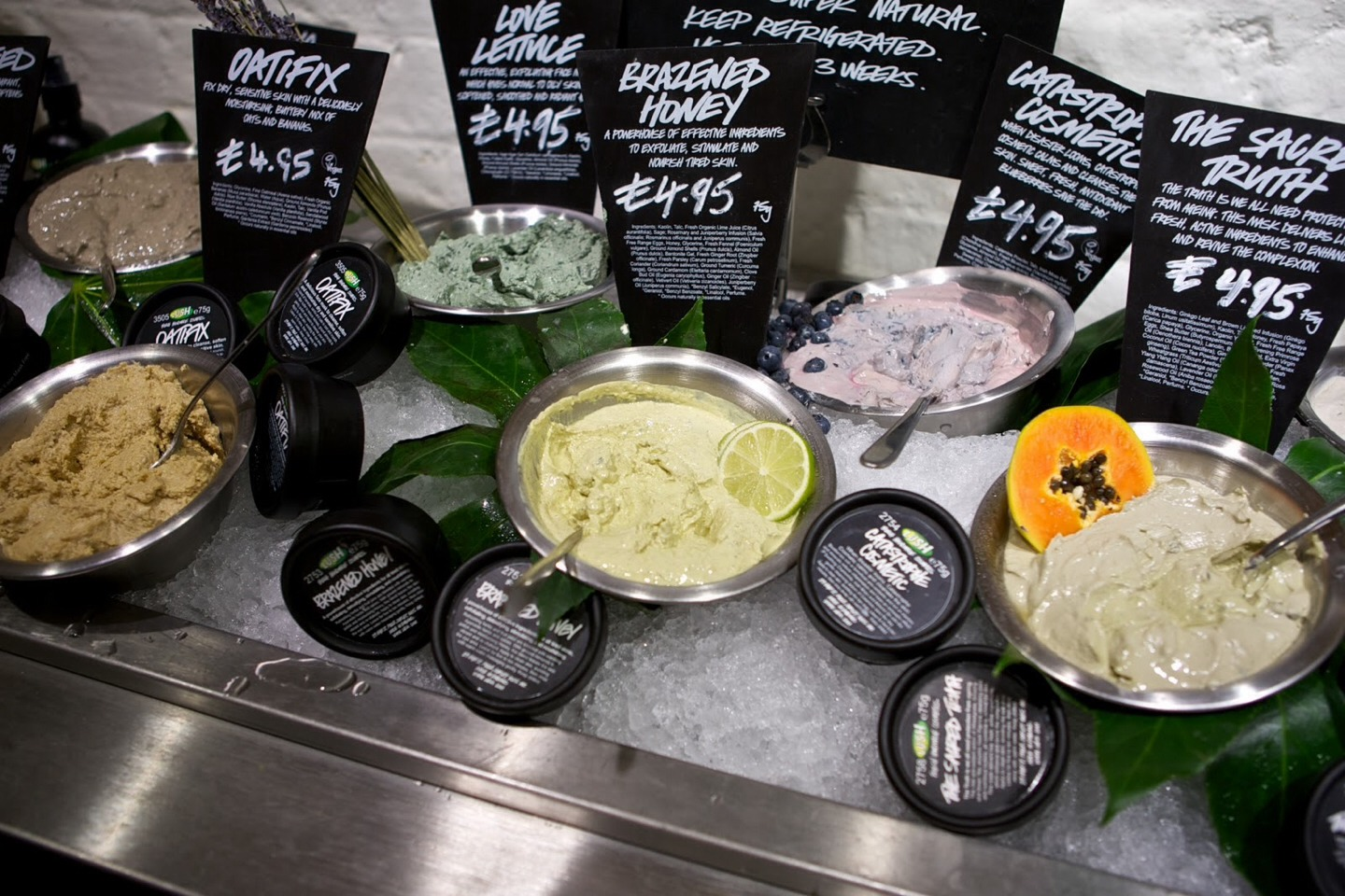 If you have 5 lush pots then bring ten into the store and get a free face mask