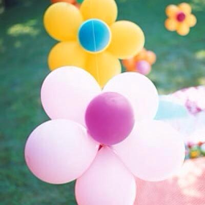 --> Flower Balloons.