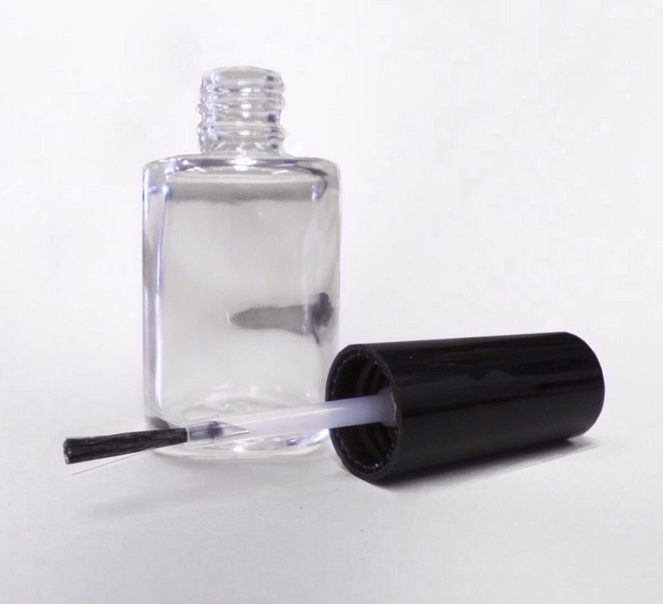You will need Clear nail polish,