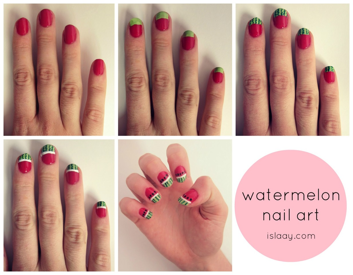 Cute Step By Step Nail Designs by Kim Edwards - Musely