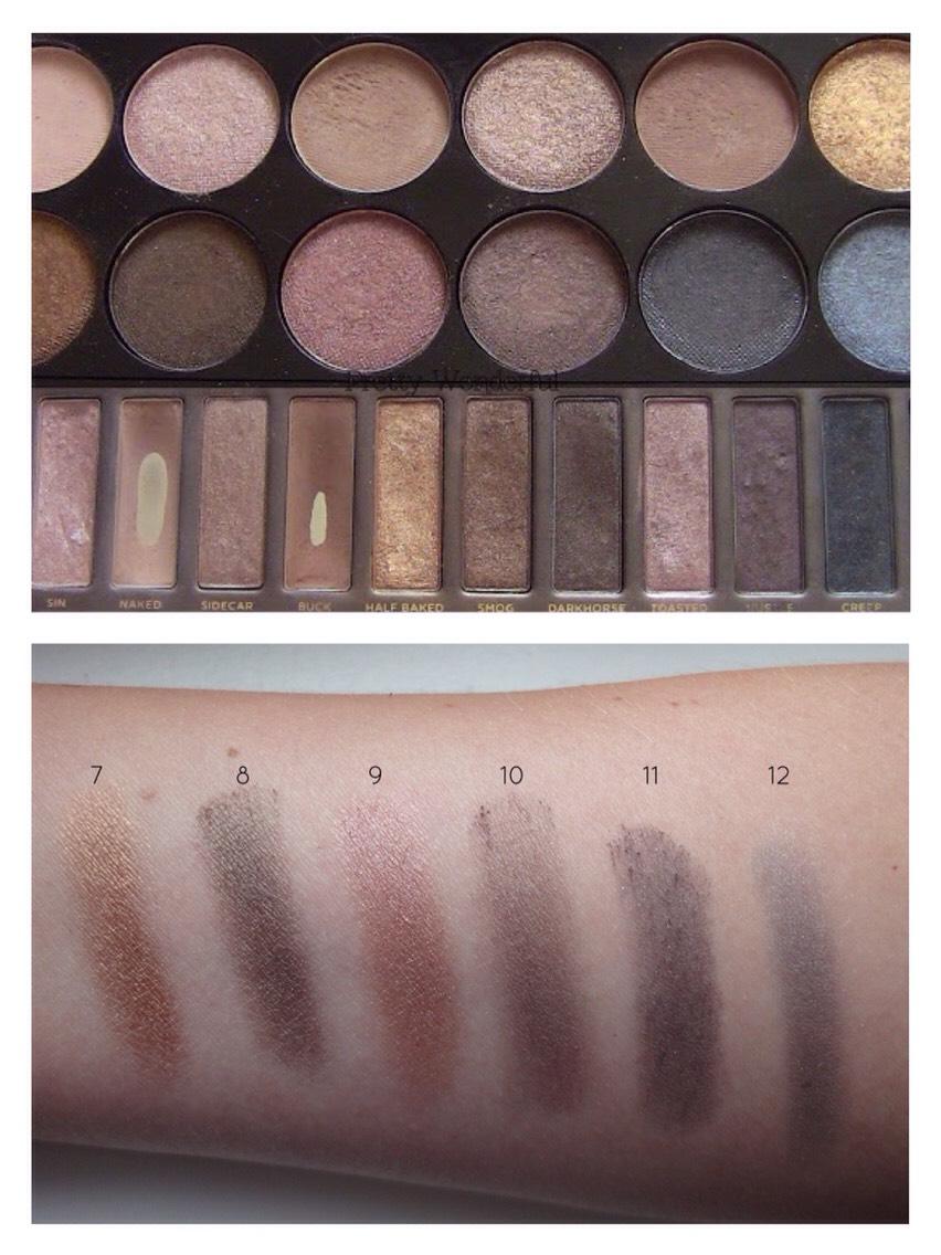 "MUA 12 Shade ""Undressed"" Eyeshadow Palette"