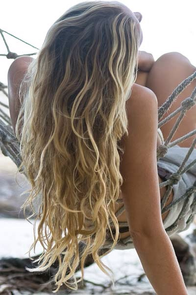 How to get gorgeous beach waves❤️😍