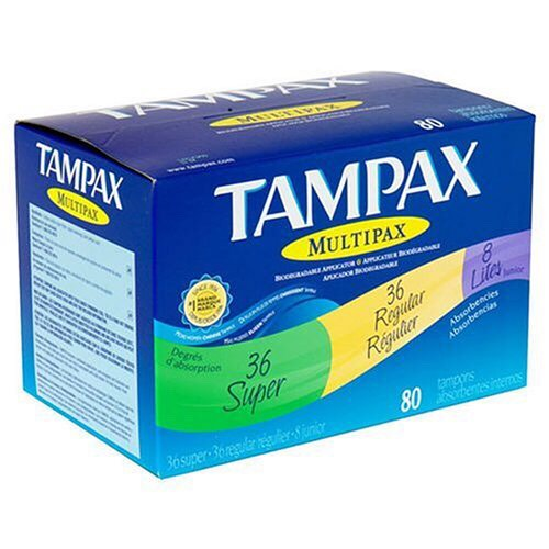 A tampon or pad in case you have an unexpected start.