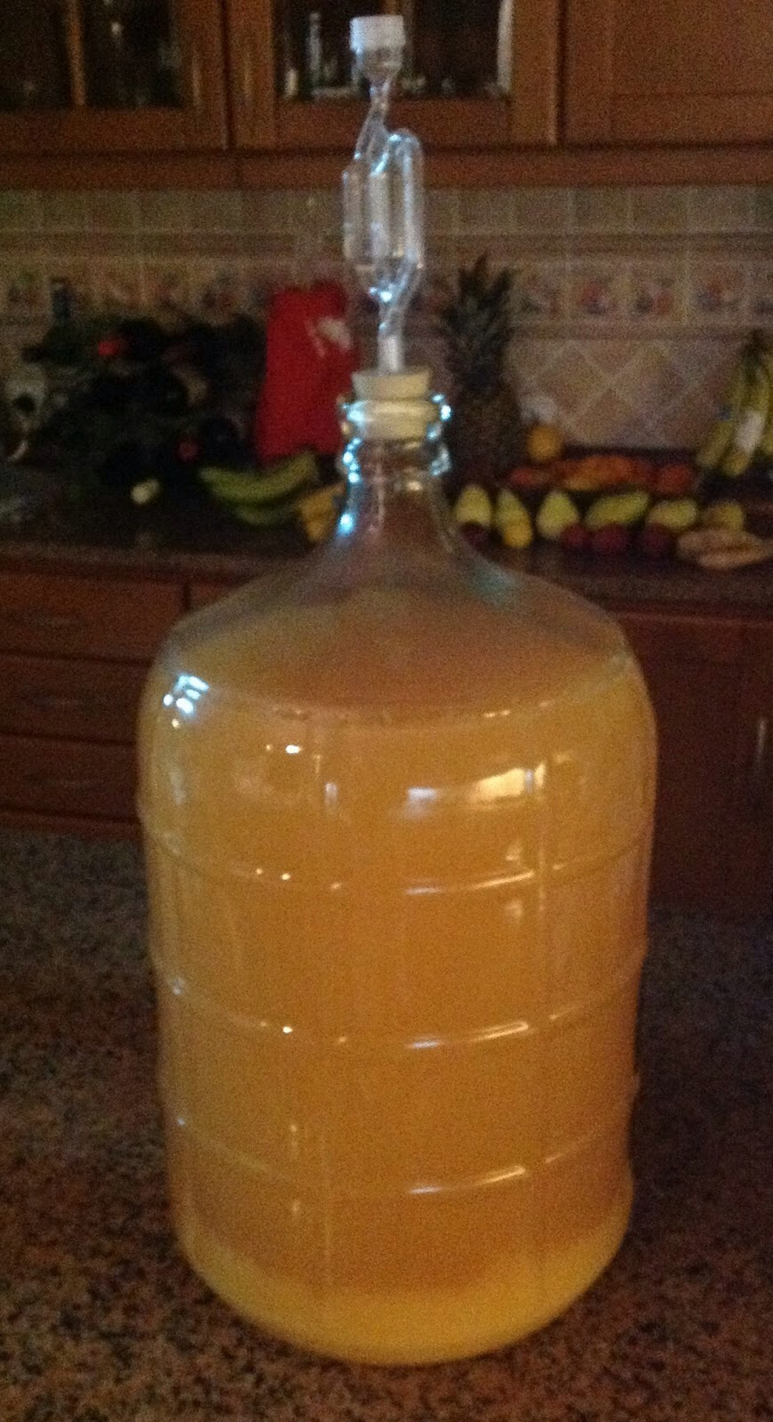 Mead: ingredients are pretty much chlorinated water, wine yeast, honey and a fermentation bucket. You can find some really great tutorials online if this is something you'd like to pursue.