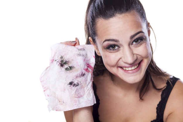 1. Baby wipes are great for taking off makeup. They can also be used to do many other things including removing deodorant stains from clothes. Other uses - http://www.onegoodthingbyjillee.com/2012/08/7247.html