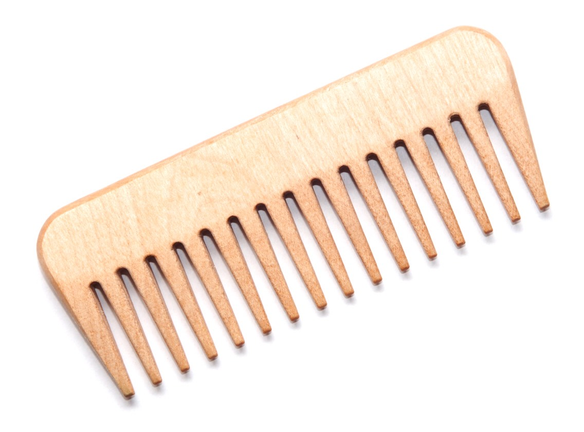 Tip #2 when hair is wet, only brush through it with a wide tooth comb. When hair is wet, it is at its weakest stage and must be handled gently. Using a fine tooth comb or brush can rip or break hair when it's wet. Also comb your hair starting at the ends to prevent breakage or damage.
