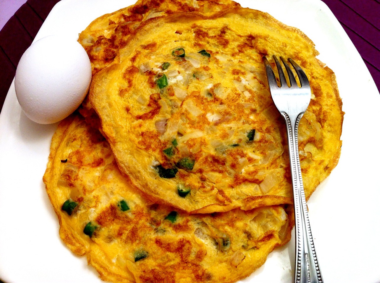 Sea-food omelette !!! Great if your a vegetarian !!