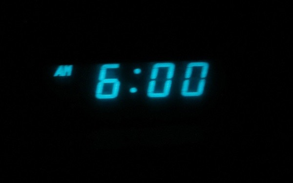 1. If you tend to stay in bed for a few minutes on your phone after you wake up then set your alarm for earlier than usual so you'll be up on time.