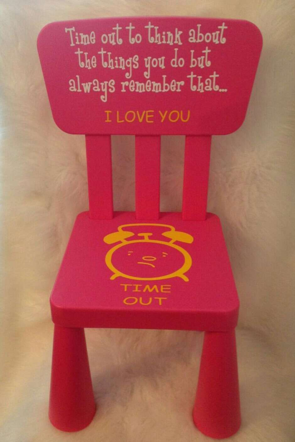 Time Out Chair With Timer musely