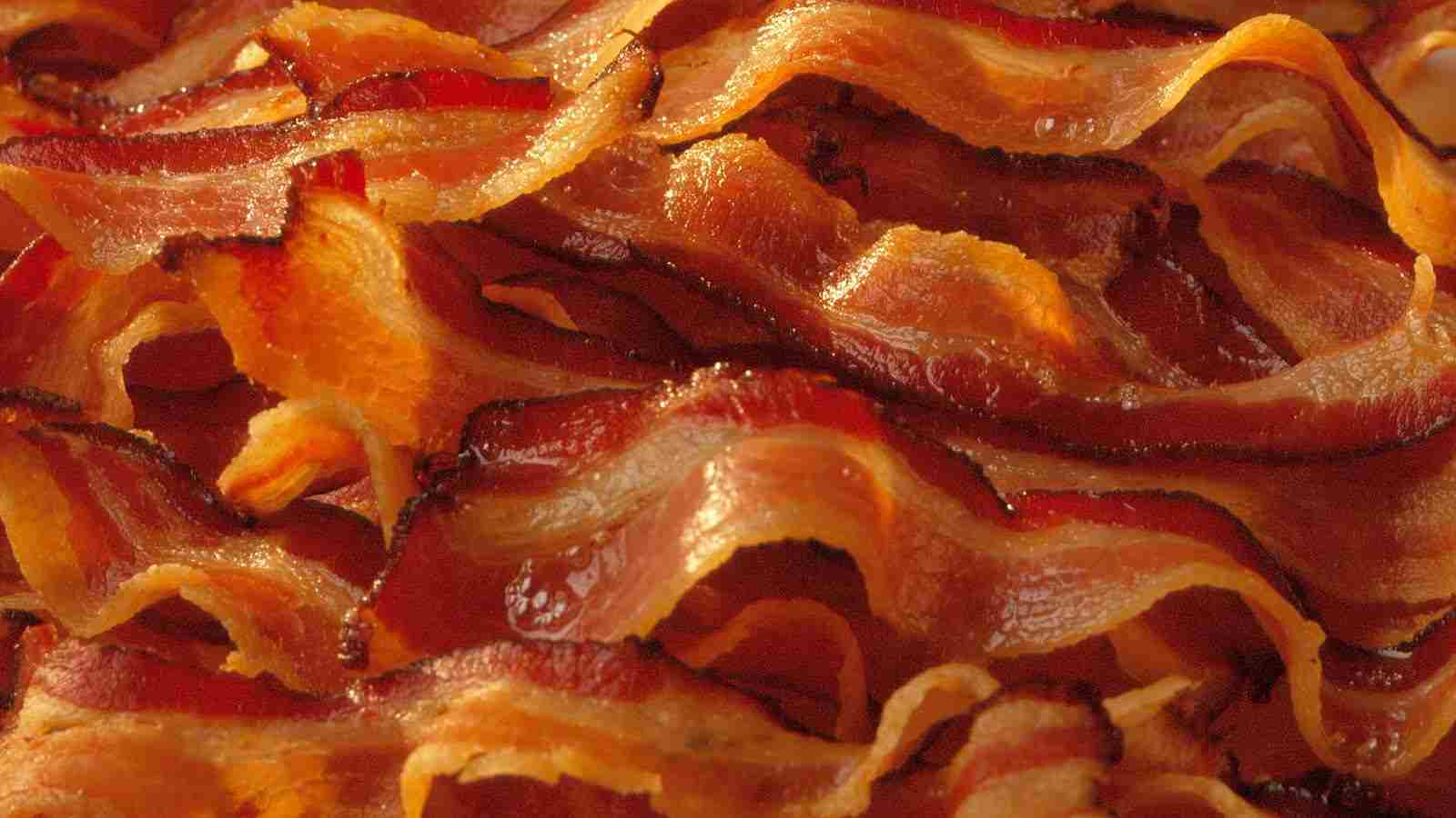 get as many pieces of bacon as you want.