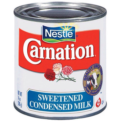 Next, a condensed milk ( any ).