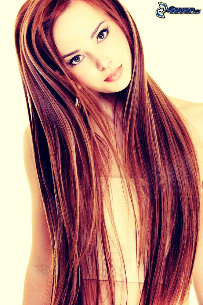 Salmon and Walnuts have omega-3 fatty acids which naturally moisturize hair and help it grow.