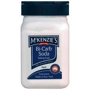 Final ingredient: table spoon of bicarbonate soda!!