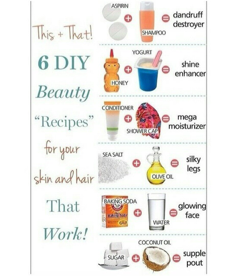 beauty recipes for skin and hair