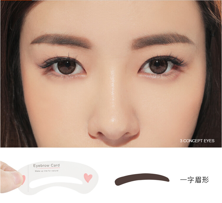 Korea Eyebrow Trend Straight Eyebrow By Love Weacked Musely