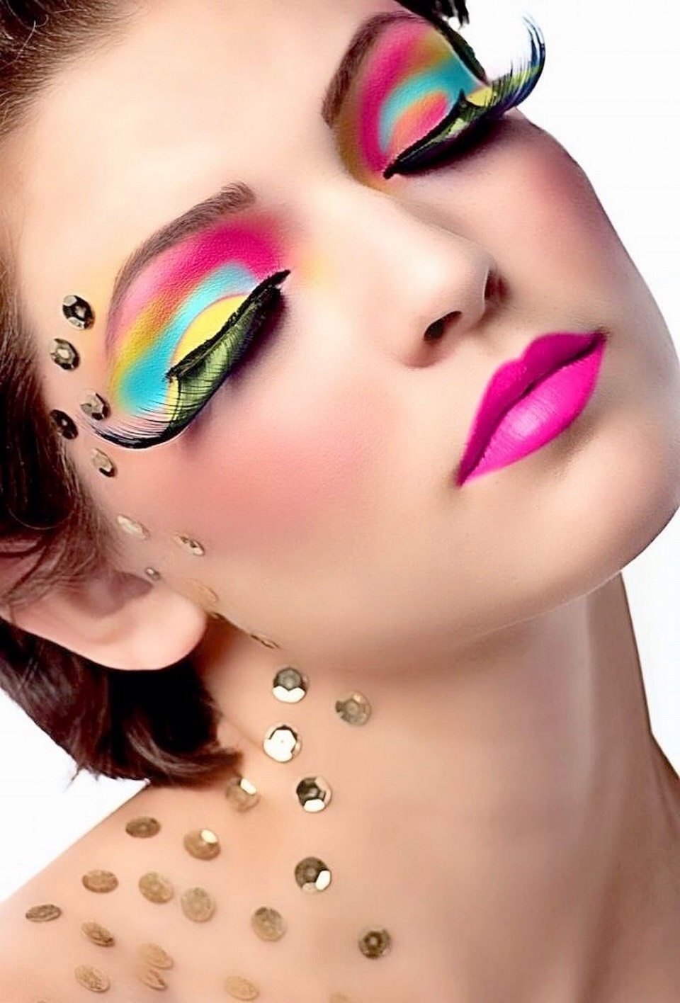 Голливудский макияж - YouTube