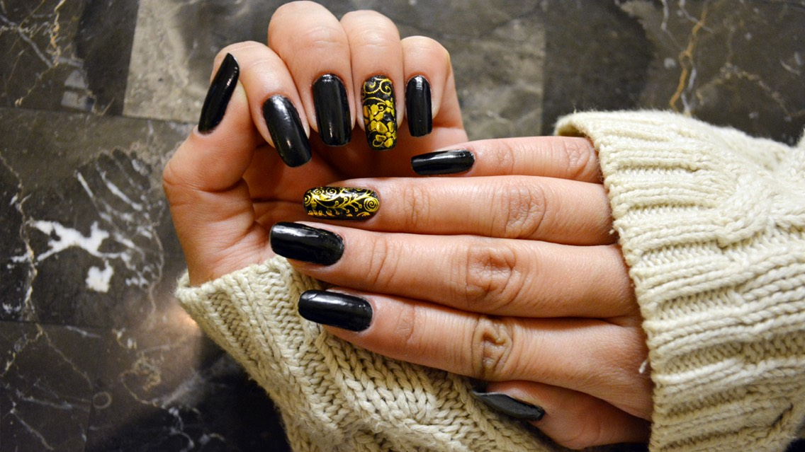 Black Onyx Nail Polish Of The Day by Zhyna TV - Musely