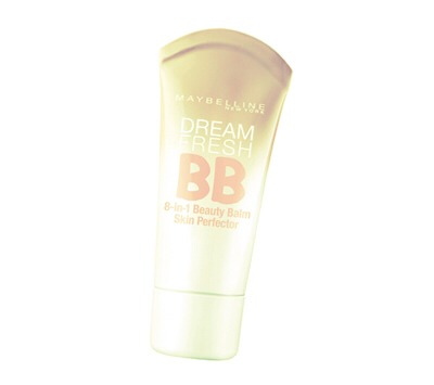 Dab some bb cream face then blend with  fingers or a sponge