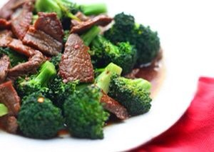 Broccoli Beef  This is a classic dish served up in Chinese restaurants everywhere. Flavor up your sliced beef in a quick marinade and add fresh broccoli florets for a quick weeknight meal.