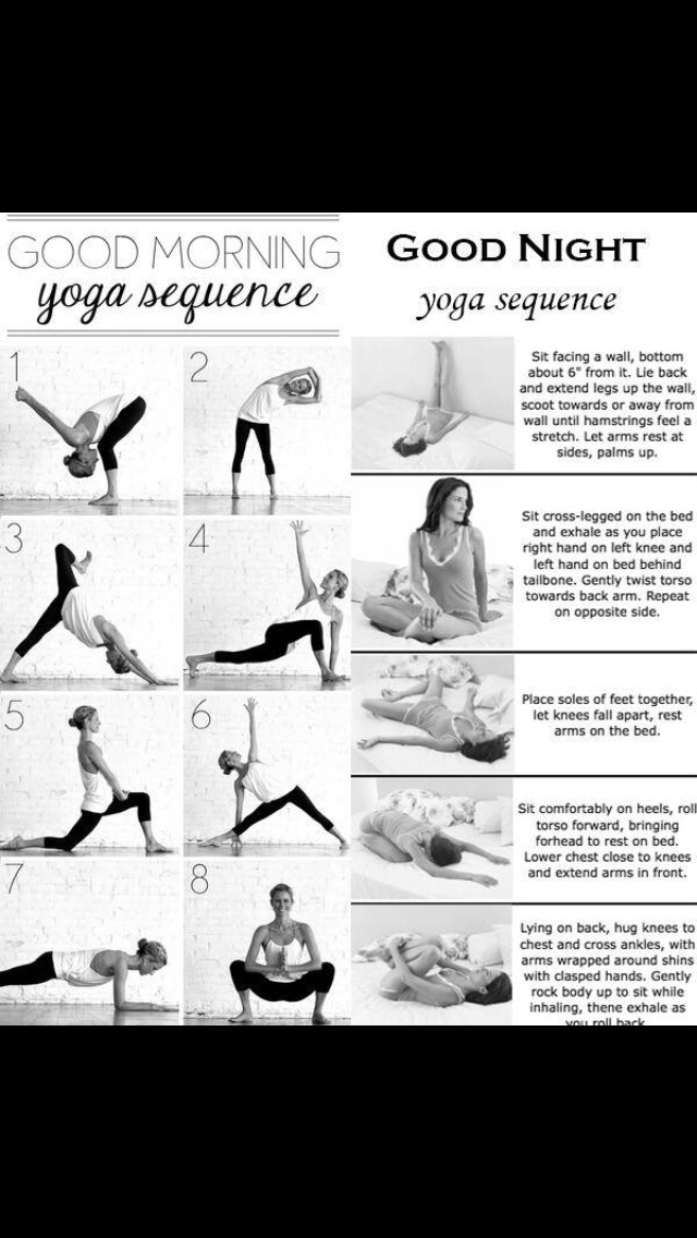 Left side you do in the morning and right side you do at night this helps relax your tense body/muscles and relief stress you maybe holding in you body