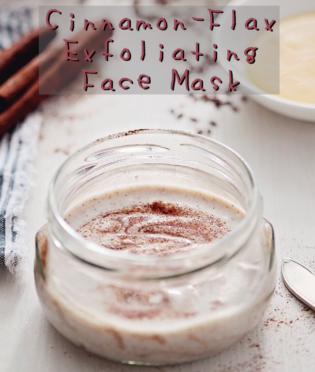 Flaxseed is both high in anti-oxidants + anti-inflammatory, + when combined with honey's antibacterial properties, this mask is perfect for fighting acne or a deep exfoliation.