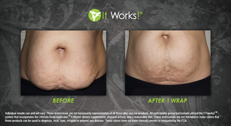 Tighten, tone and firmwith the It Works Body Wrap!! See results in as little as 45 minutes!  You can apply it on any trouble spotfrom the neck down!  A box comes with 4 in it, &4 is a full treatment!  Order here:http://bit.ly/IWBody-Wrap  Get 40% off and become a loyal customer! ❓ text: 435.22