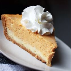 This is a great alternative for those who don't love pumpkin pie or for those who love cheesecake and pumpkin pie! It's also a great dessert for the holiday that's just around the corner thanksgiving! Let get started
