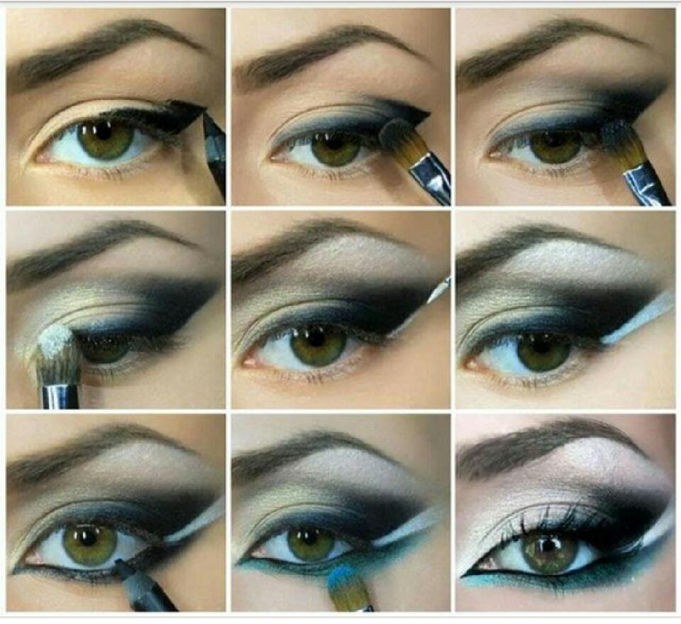 Макияж для голубых глаз - пошаговое