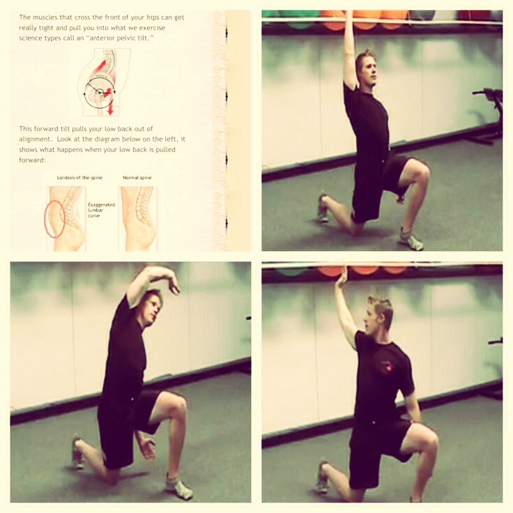Do the 3 way flexor stretch two times a day 30 seconds each position....