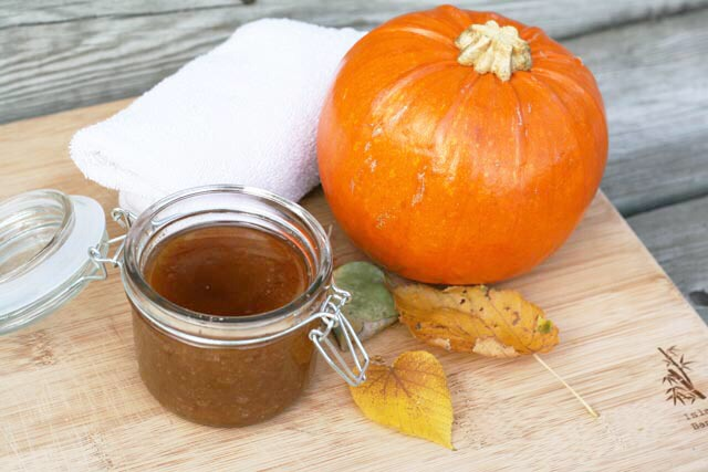 9. PUMPKIN, SUGAR & SPICE SCRUB  By Care 2.com's Healthy & Green Living shares this amazing (and Thanksgiving appropriate!) body scrub concoction (which also works wonders for the face):  1/2 cup cooked or canned pumpkin, pureed 1/2 cup brown sugar 1/4 tsp ground cinnamon  Blend in a bowl. Apply mix