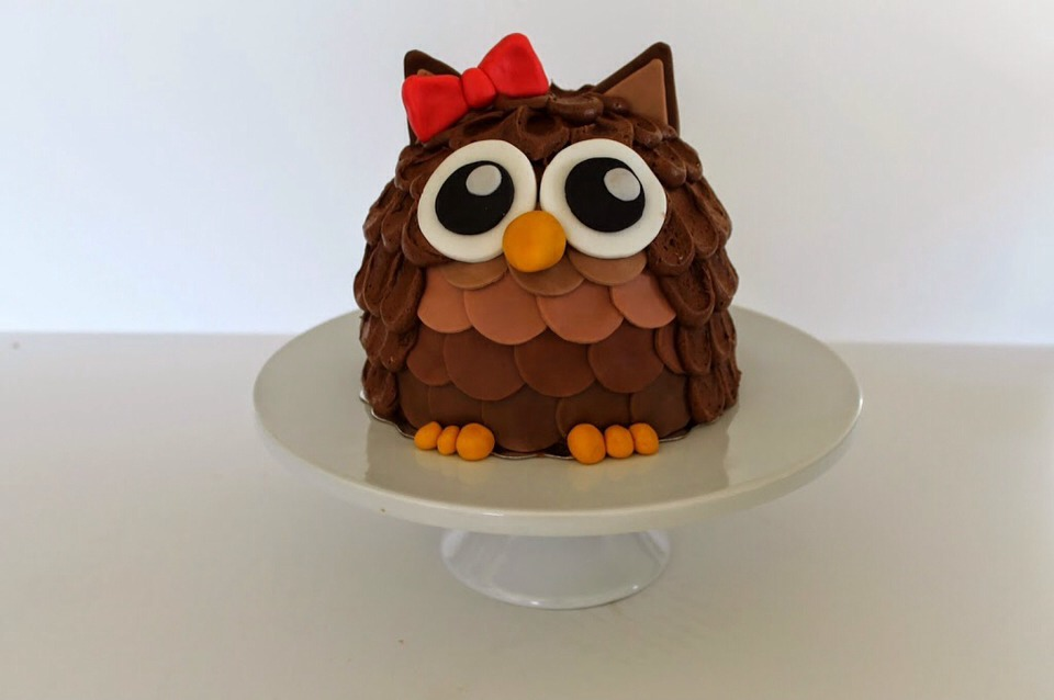 There you go: a pretty little owl. Perfect for any owl enthusiast!
