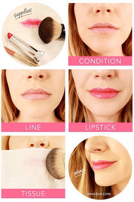 Blotting makes your shade last longer!