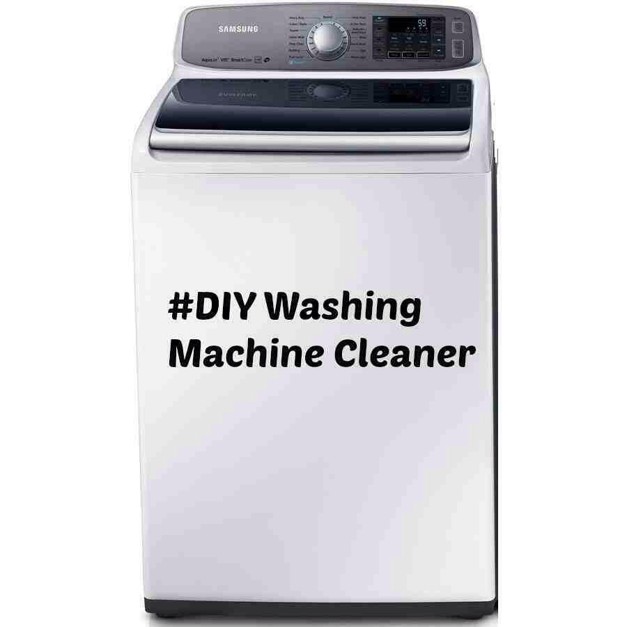 WASHING MACHINE CLEANER ONLY 2 INGREDIENTS