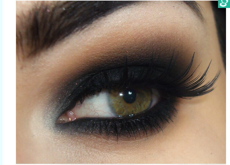 The Classic Black Smokey Eye Makeup Tutorial!!