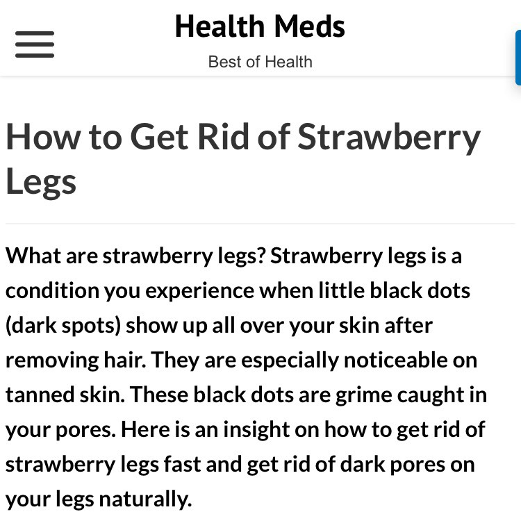 how to get rid of strawberry tongue