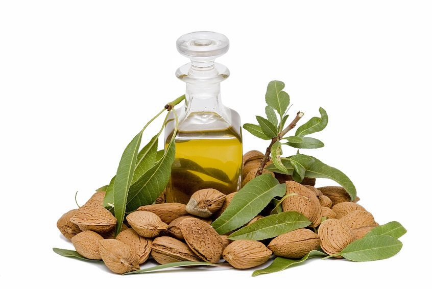 almond oil  This can be applied all over body as a moisturiser.