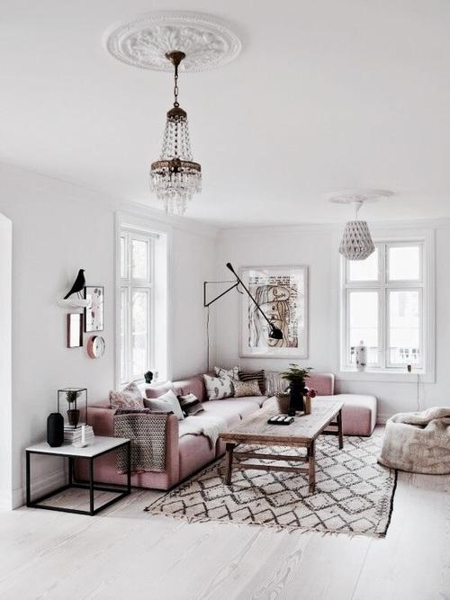 Paint your walls with lighter hues How your walls look makes a huge impact on how spacious your room appears. Lighter paint colors will make a room look much bigger. Your best bet is to choose a color from the cooler end of the color wheel, like whites, creams and very soft subtle blues that will keep the room airy, light, and open.