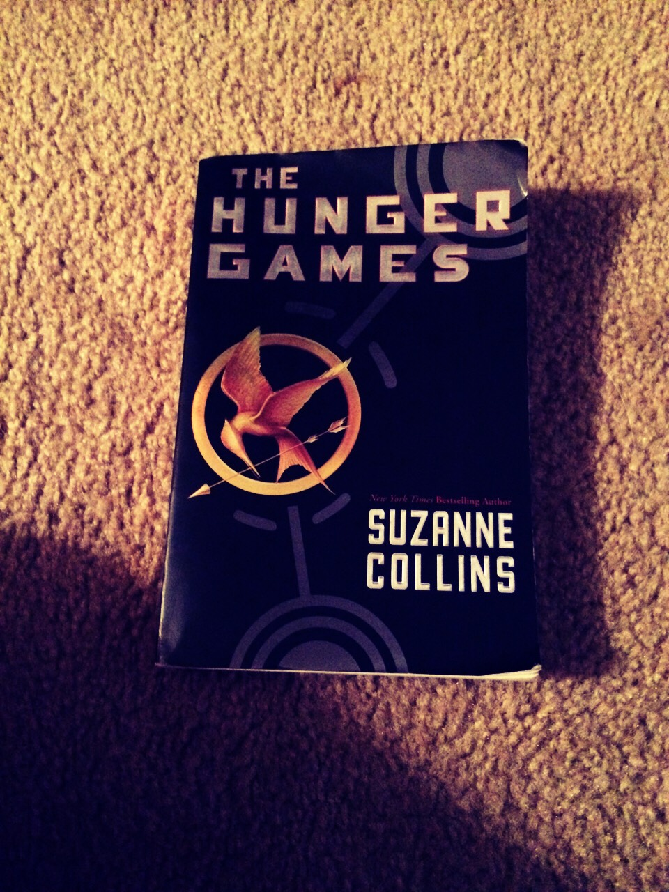 The hunger games!! By Suzanne Collins;series of 4