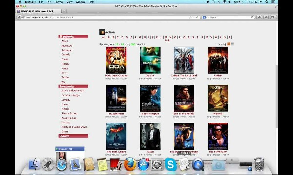 want to watch free unlimited movies?  go to megashare.com