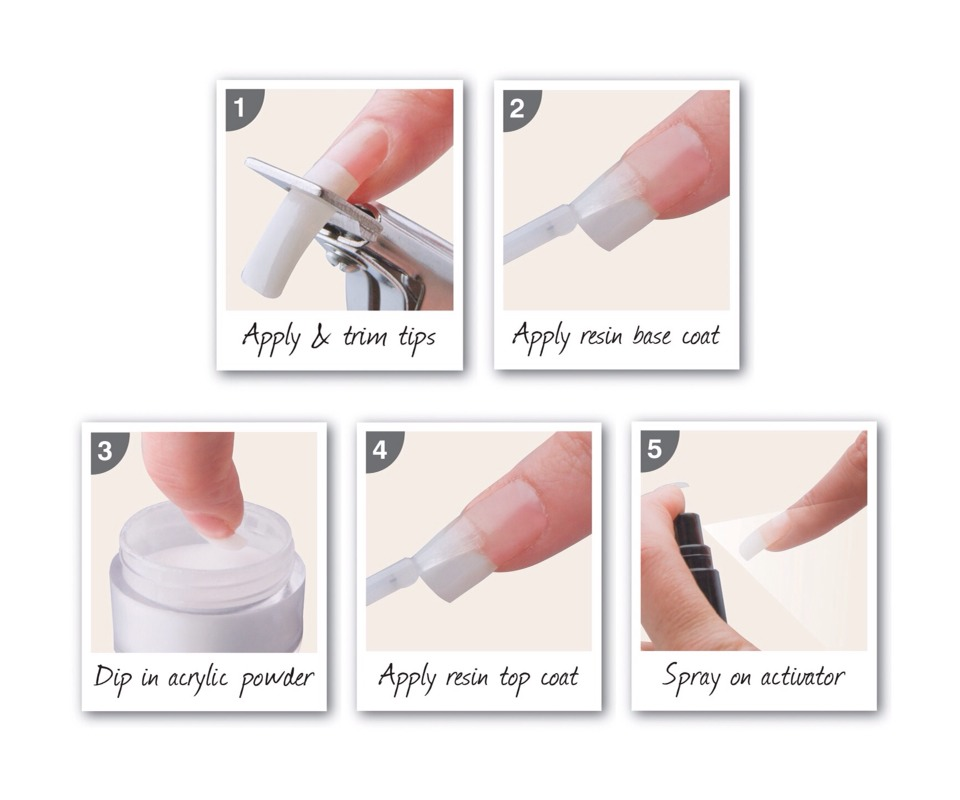 How To Do Acrylic Nails Yourself Easy Step By Step Guide by Dannii ...
