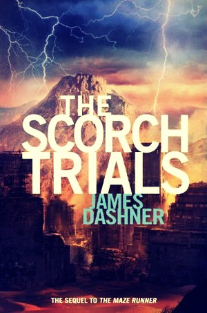 The Scorch Trials by James Dashner sequel to The Maze Runner and By The Way the movie is coming out September 18 2015.