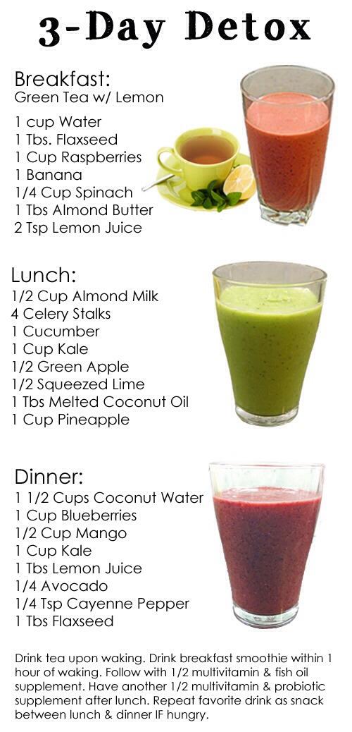 💢💥😋DIY Detox Drink Smoothie Recipes For