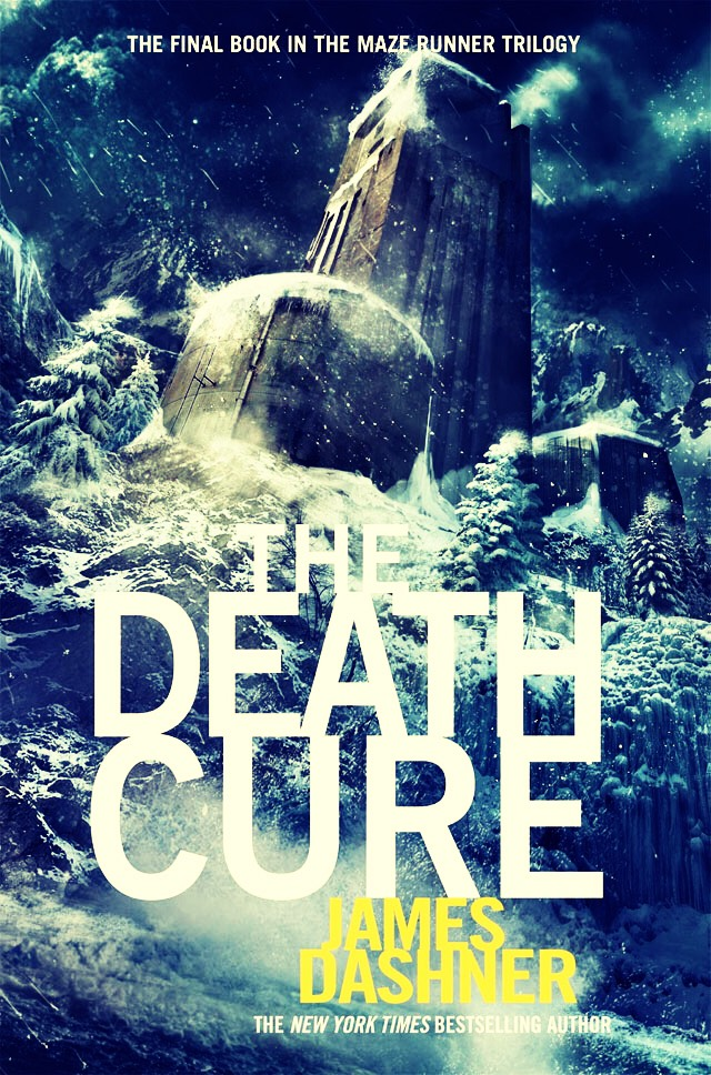 The Death Cure by James Dashner sequel to The Scorch Trials.