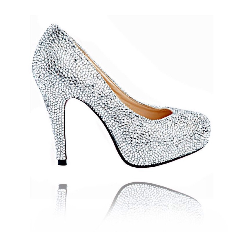 Step by step Crystal shoes (aka Strass shoes)