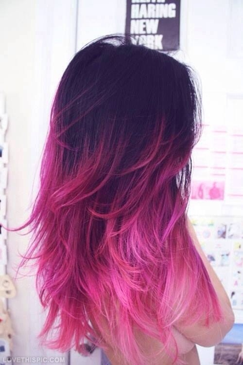 If you dye/bleach your hair a lot stop! If you dye your hair way to much it will actually ruin it! So maybe of every 6-12 months dye it:)