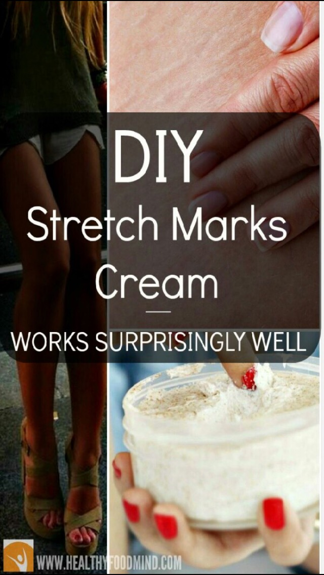 Diy Stretch Marks Cream And Cellulite Fighter By Courtney Houston