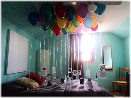 This Is Just A Cute And Simple Thing To Do Blow Up Balloons Attach