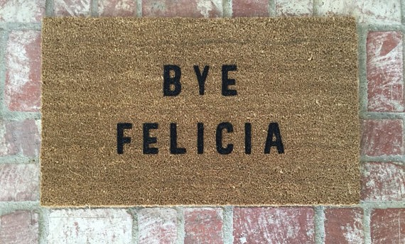 Welcome Mat Make a fun first impression by personalizing a doormat to welcome guests into your home. Grab aplain woven doormatfrom the nearest home improvement store. Use stencils to paint whatever design or expression you'd like.