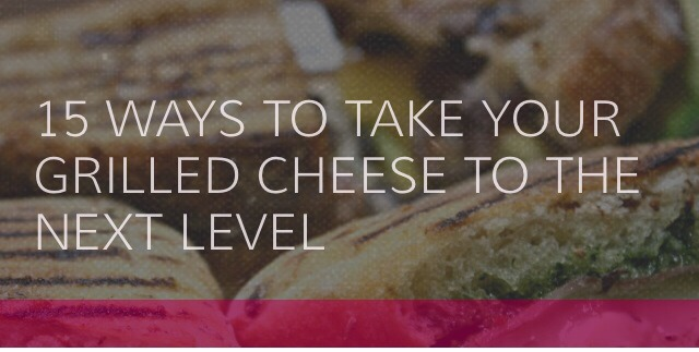 Is there a more beloved comfort food than the good ole grilled cheese? They are quick and tasty. But if you're starting to get tired of just bread and cheese, give your sandwich a much-needed makeover! Check out these 15 ways to change up your grilled cheese sandwich!👉👉👉