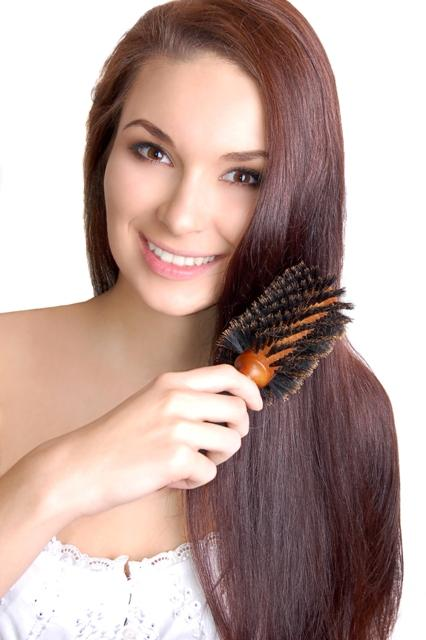 Since the 1800's, boar bristle brushes have been used to create shiny, healthy hair without styling products!